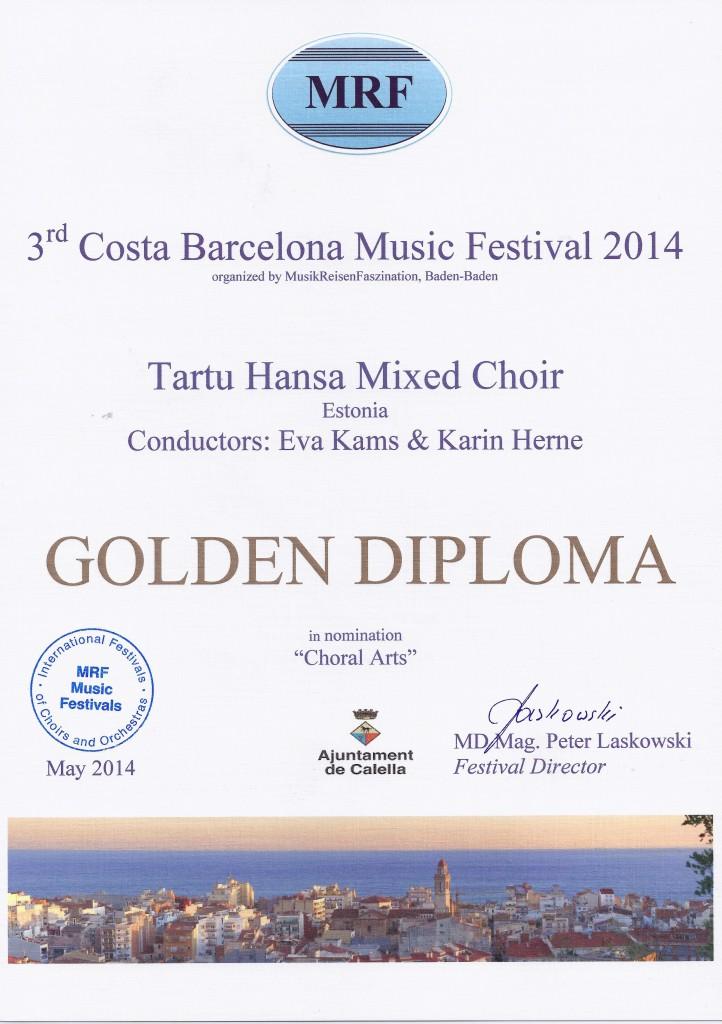 2014 Barcelona festival